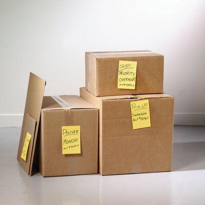 Post-it® Super Sticky Notes 660-S, 102 x 152 mm, narzissengelb, 1 Block à 75 Blatt