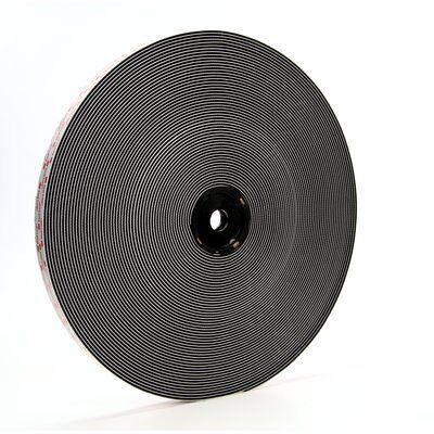 3M™ Dual Lock™ flexibler Druckverschluss SJ3552, schwarz, 25 mm x 45,7 m, 5,7 mm, 26 Köpfe/cm2, Aussenbreich