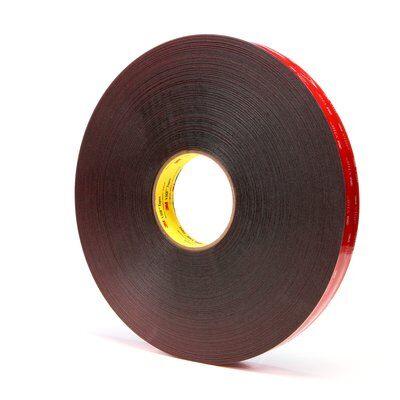 3M™ VHB™ Klebeband 5925F, Schwarz, 12 mm x 56 m, 0.6 mm
