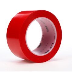 3M™ 471 Hochwertiges Weich-PVC-Klebeband, 50 mm x 33 m, Rot
