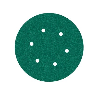 3M Hookit™ Papierschleifscheibe 245, 150 mm, P80, 6-fach gelocht