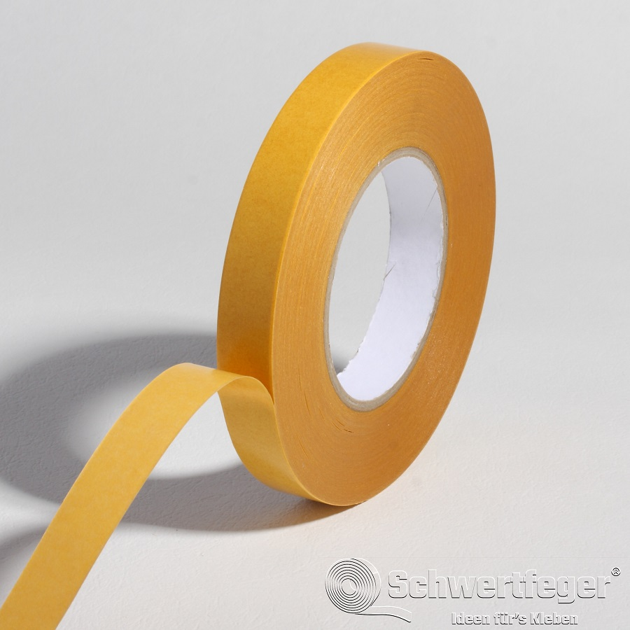 SPADA® 720 doppelseitiges Klebeband mit Papiervliesträger 19 mm x 50 m