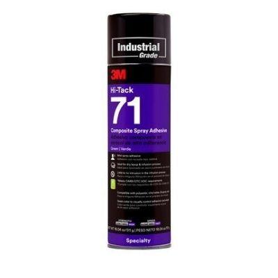 3M™ Sprühklebstoff auf Basis Synthetischer Elastomere Hi-Tack 71, Grün, 534 ml