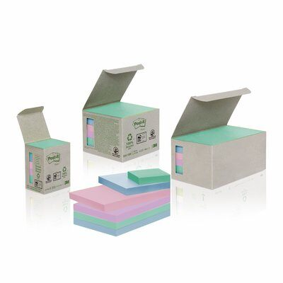 Post-it® Recycling Notes 653-1GB, 100% PEFC CH18/0914