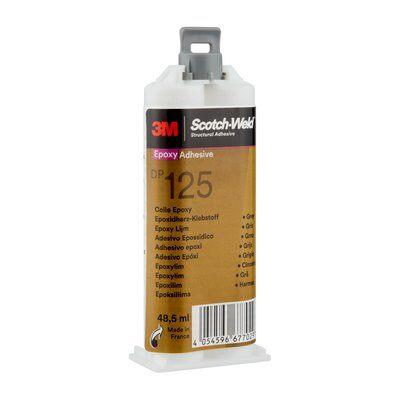 3M™ Scotch-Weld™ 2-Komponenten-Konstruktionsklebstoff auf Epoxidharzbasis für das EPX System DP 125, Transluzent, 48.5 ml