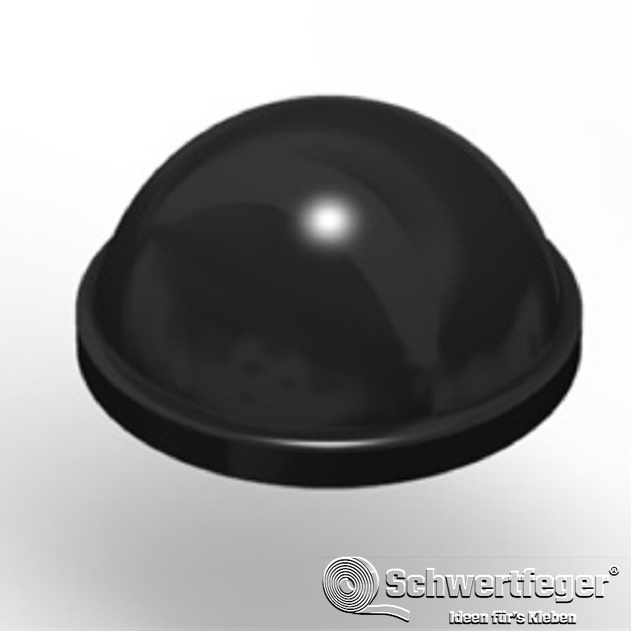 3M SJ 5027 Elastikpuffer schwarz Durchmesser 16 mm Dicke 7,9 mm