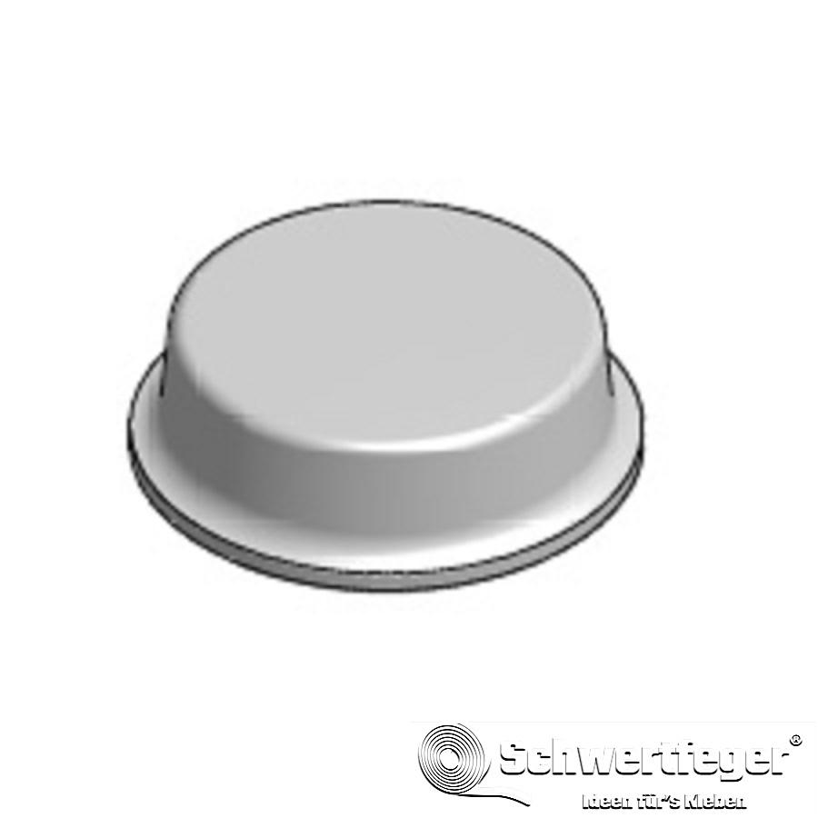 3M SJ 5312 Elastikpuffer transp. Durchmesser 12,7 mm Dicke 3,5 mm
