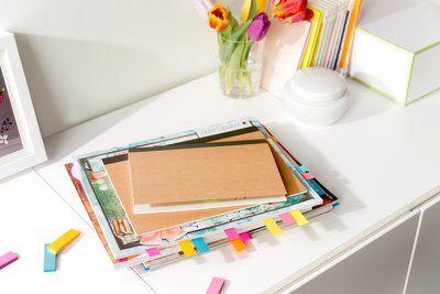 Post-it® Page Marker 670-5, 15 x 50 mm, neongelb, neongrün, neonorange, neonpink, violett, 5 x 100 Blatt
