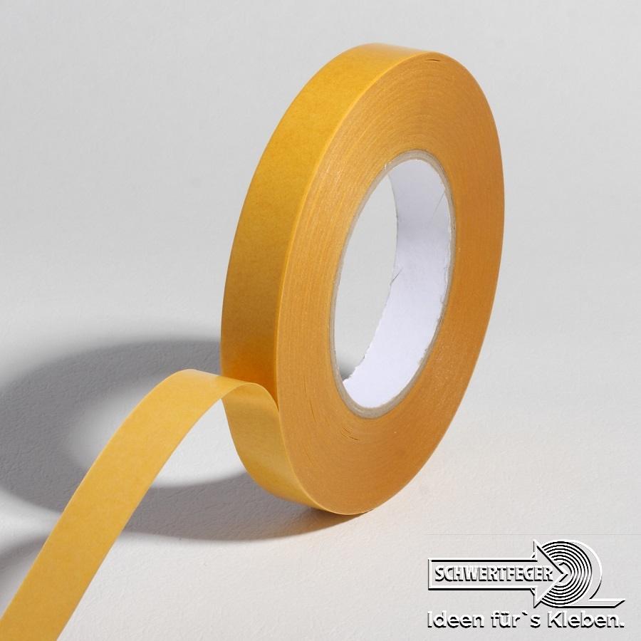 SPADA® 4543 VS doppelseitiges Klebeband Papiervliesträger 09 mm x 50 m
