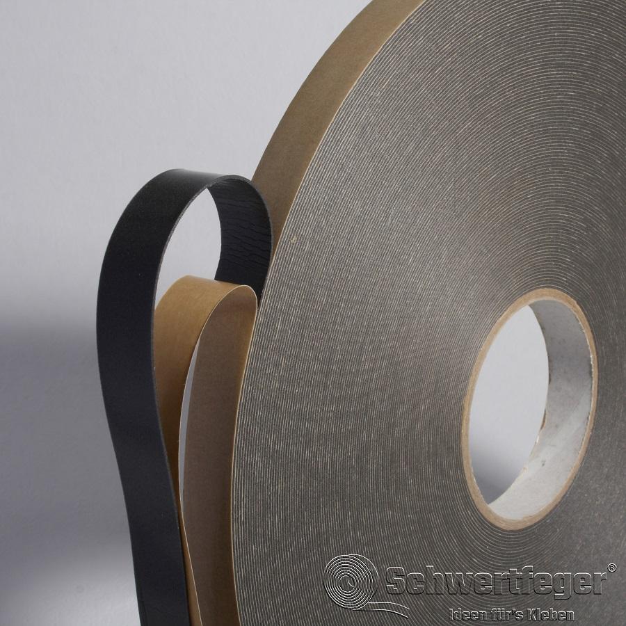 Vitomount 125 SS-70 Spiegel-Klebeband 1 mm schwarz 19 mm x 66 m