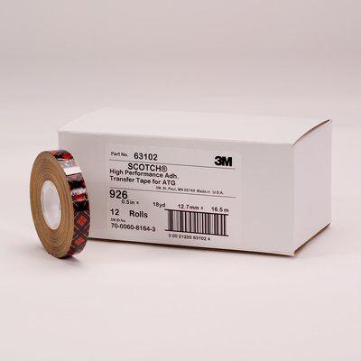 3M™ 926 ATG Transfer Klebeband, 12 mm x 33 m
