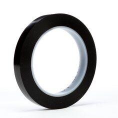 3M™ 471 Hochwertiges Weich-PVC-Klebeband, 12 mm x 33 m, Schwarz