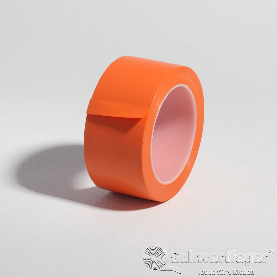 SPADA® AT-66  PVC Bautenschutz Klebeband orange 50 mm x 33 m
