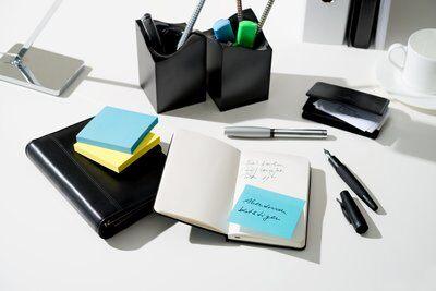 Post-it® Notes 654NOR, 76 x 76 mm, neonorange, 1 Block à 100 Blatt