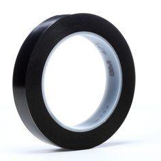 3M™ 471 Hochwertiges Weich-PVC-Klebeband, 19 mm x 33 m, Schwarz