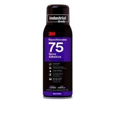 3M™ Sprühklebstoff 75, wiederlösbare Verbindungen, 500 ml