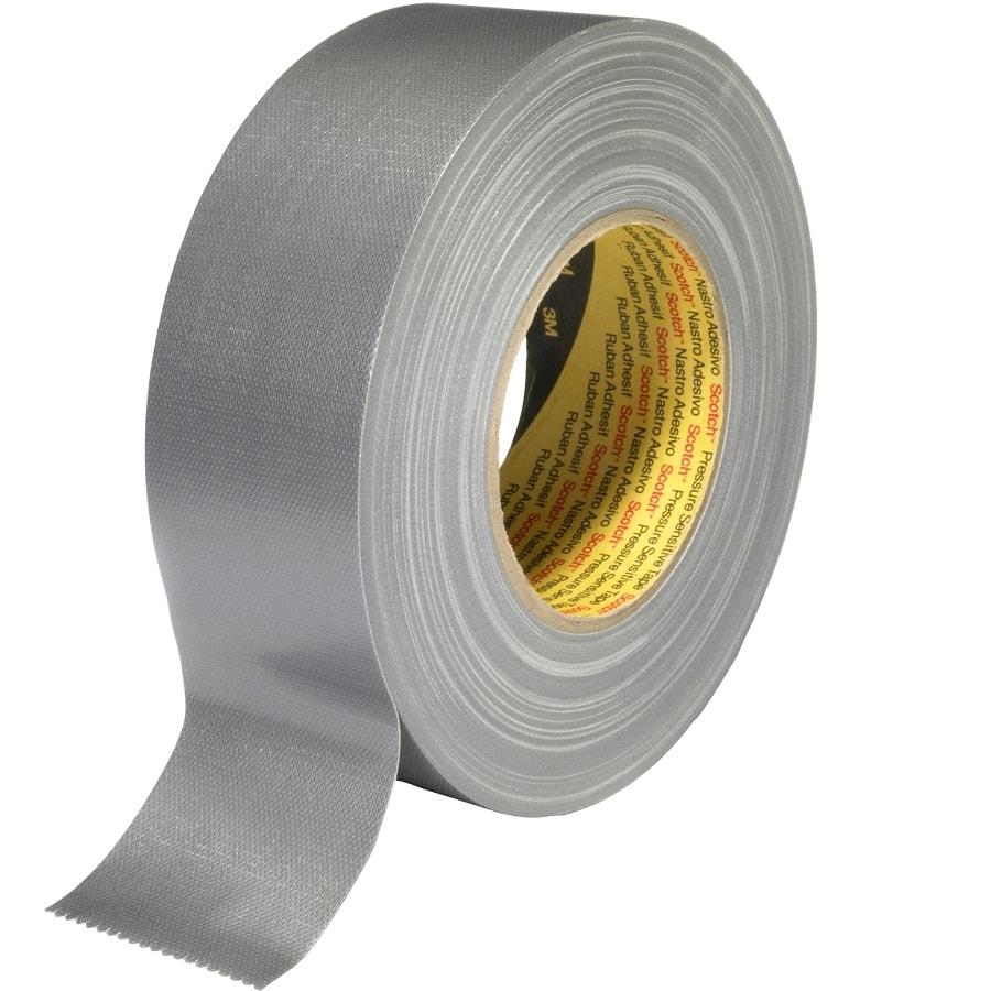 3M 389 Gewebeklebeband silber 50 mm x 50 m