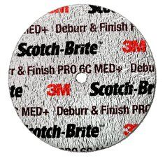 3M  Scotch-Brite™ Deburr and Finish Pro Kompaktscheibe DP-UW, 75 mm x 3,2 mm x 6,35 mm, 8C CRS+