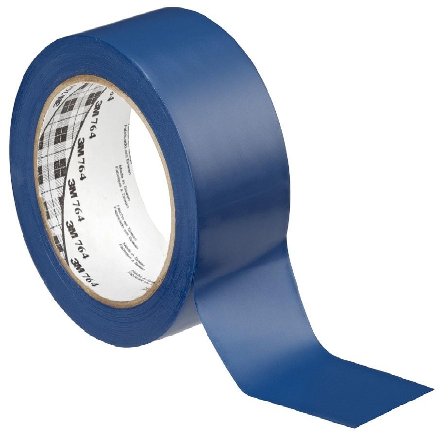 3M 764i Weich-PVC-Klebeband blau 50 mm x 33 m