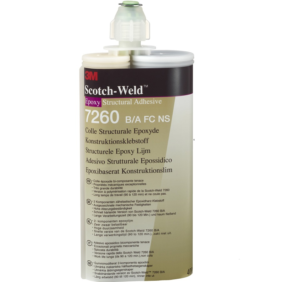 3M Scotch Weld SW 7240 B / A FR schwarz 400 ml