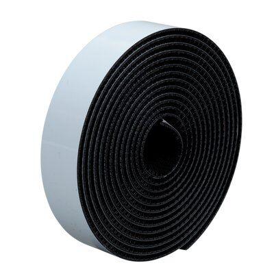 3M™ Dual Lock™ SJ354X, Schwarz, 2 x 25 mm x  5 m, 5.7 mm, 40 Köpfe/cm2, Innenbereich, Spendebox