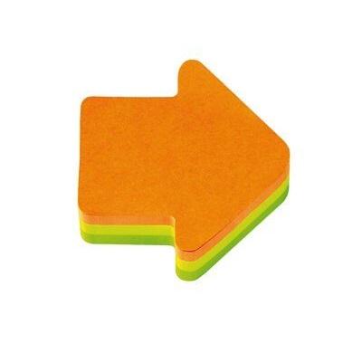 Post-it® Würfel 2007A, 70 x 70 mm, neongelb, neongrün, neonorange, 1 Würfel à 225 Blatt