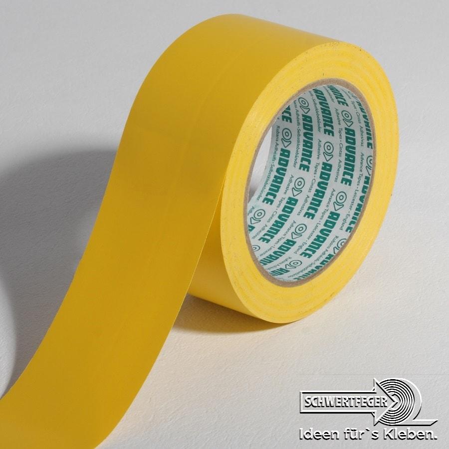 SPADA AT 8 Bodenmarkierungs-Klebeband gelb 50 mm x 33 m