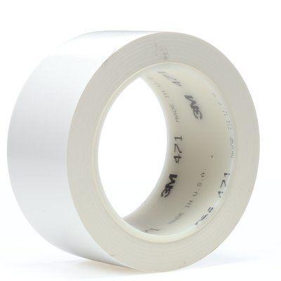 3M 471 Weich-PVC-Klebeband weiss 50 mm x 33 m